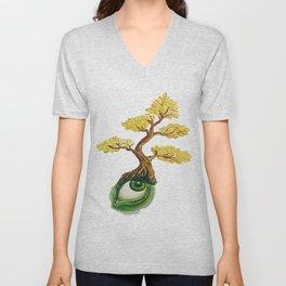 money tree: invision wealth Unisex V-Neck