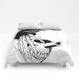 Skull (Creeping Hands) Comforters