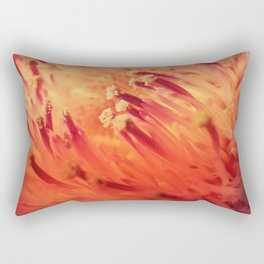 FLAME THISTLE BLOOM Rectangular Pillow