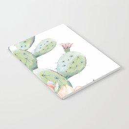 Cactus 3 White #society6 #buyart Notebook