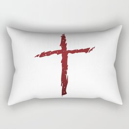Rugged Cross Rectangular Pillow