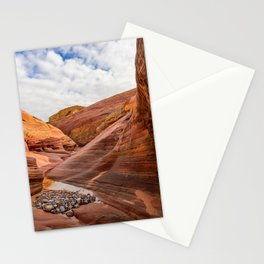 After The Rain - 6, Valley_of_Fire Canyon, Nevada Stationery Cards