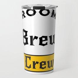 Groom Funny Groom's Brew Crew Travel Mug