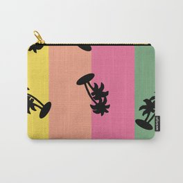90s Palm Tree Vibe Carry-All Pouch