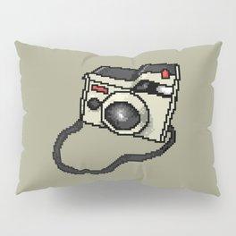 Pixel Art Camera Pillow Sham