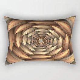 Fractal Buds Tunnel Rectangular Pillow