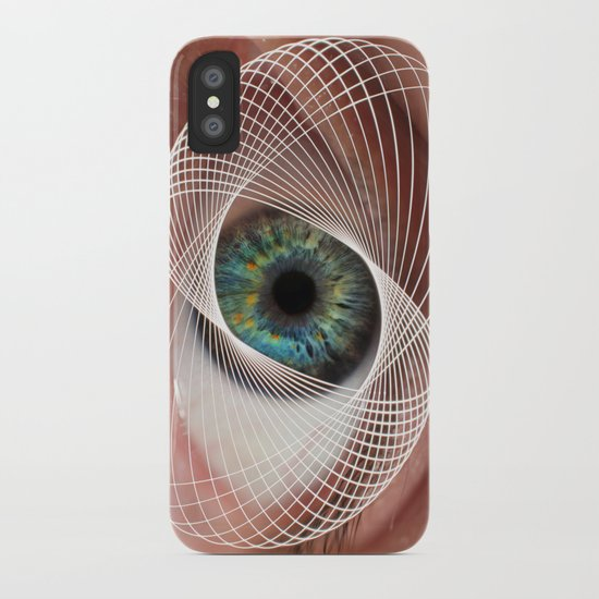 Mobius Eye Seeing All, Infinite Vision iPhone Case