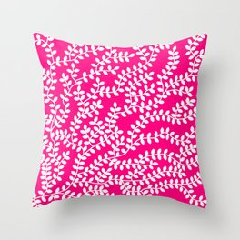 Rubby Forest Throw Pillow