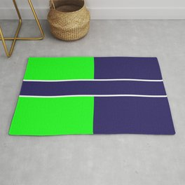 Team Colors...... 6 Lime green /navy Rug