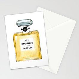 Yellow Parfum Stationery Cards