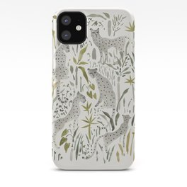 Grey Cheetahs iPhone Case