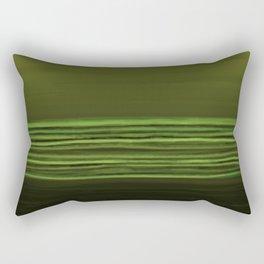 Horizon (olive green) Rectangular Pillow