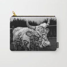 Skull Cow Carry-All Pouch