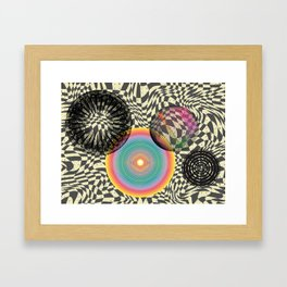 A Trip into the Cosmos Framed Art Print
