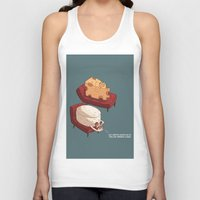 psychology Tank Tops featuring Chessy goes to Psychology  by ivanov1ch