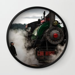 Black Hills Central Railroad #104 Wall Clock