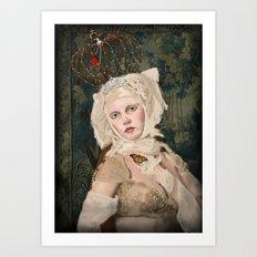 Aveline (Vampire Ball) Art Print