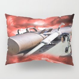 Cannon and bombing Pillow Sham