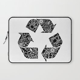Recycling is Cool Laptop Sleeve