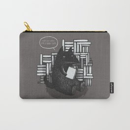 Vegan Wolf Carry-All Pouch
