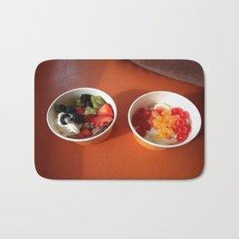Frozen Yogurt Decisions Bath Mat