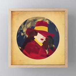 Gentlewoman thief Framed Mini Art Print