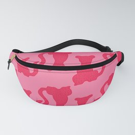 The Pink Cats Pattern Fanny Pack