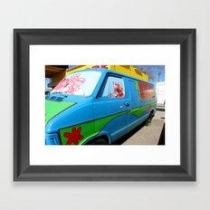 Mystery Machine 2 Framed Art Print