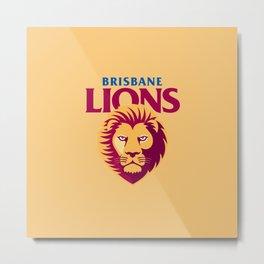 BRISBANE LIONS Metal Print