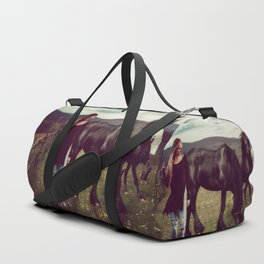 Friesian Morning Duffle Bag