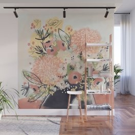 Early Autumn Florals Wall Mural