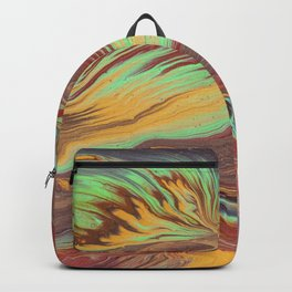 The Flow of Wood Backpack