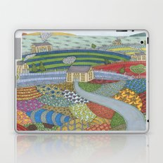 island patchwork Laptop & iPad Skin
