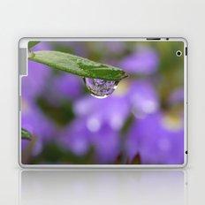 Smiling Drop in Purple Laptop & iPad Skin