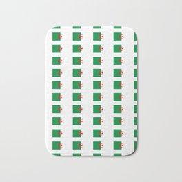 Flag of algeria 2 -algerian,algiers,camus,chaabi,oran,constantine,Annaba. Bath Mat