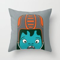 sports Throw Pillows featuring Sports?! by Aron Gelineau