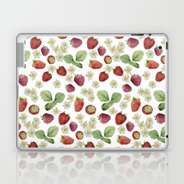 strawberries Laptop & iPad Skin