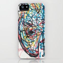 Eye 2 colour iPhone Case
