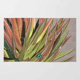 Yucca filifera with beetle Rug