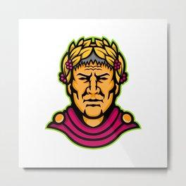 Gaius Julius Caesar Mascot Metal Print