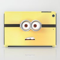 minion iPad Cases featuring Minion by ellyonart