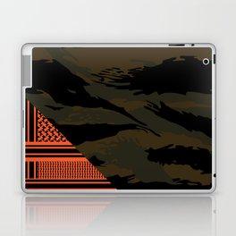 Brown Tiger Camouflage Laptop & iPad Skin