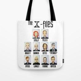 X FILES Tote Bag