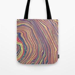 Marbled Geode Tote Bag