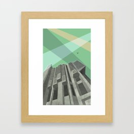 Robarts Library (University of Toronto) Framed Art Print