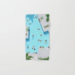 Crisp cut swim Hand & Bath Towel