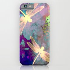 Painting Dragonflies and Orchids A iPhone 6s Slim Case