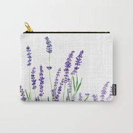 lavender watercolor horizontal Carry-All Pouch
