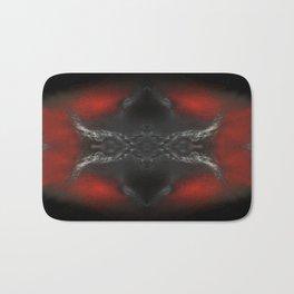 abstrackt red/black No2 Bath Mat
