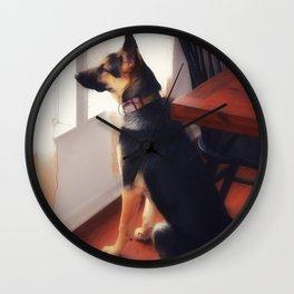 Squirrel Sentry Wall Clock